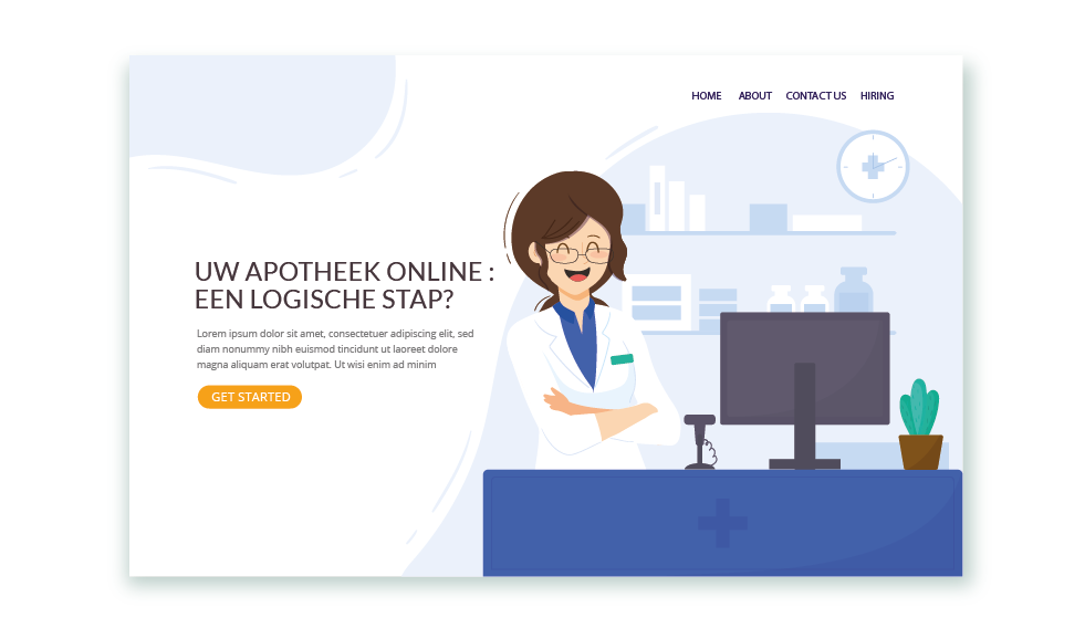 Uw apotheek online, een logische stap?