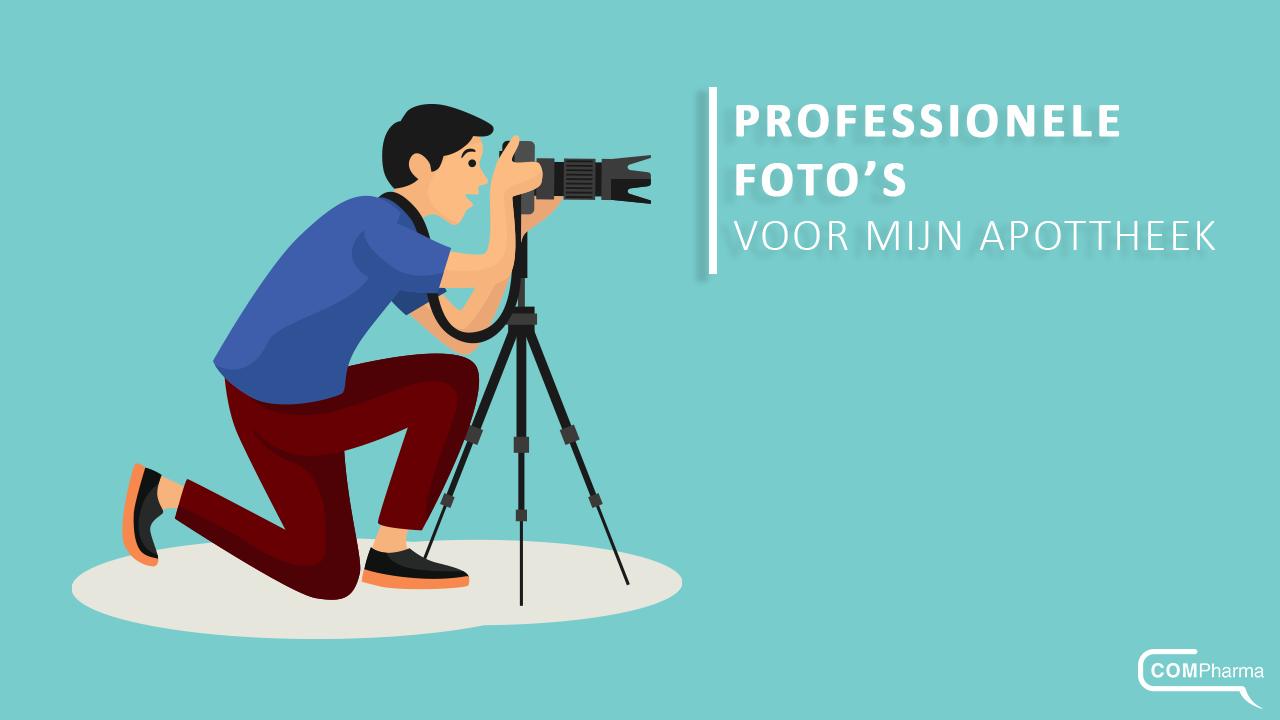 Professionele foto's voor uw apotheek: een meerwaarde!