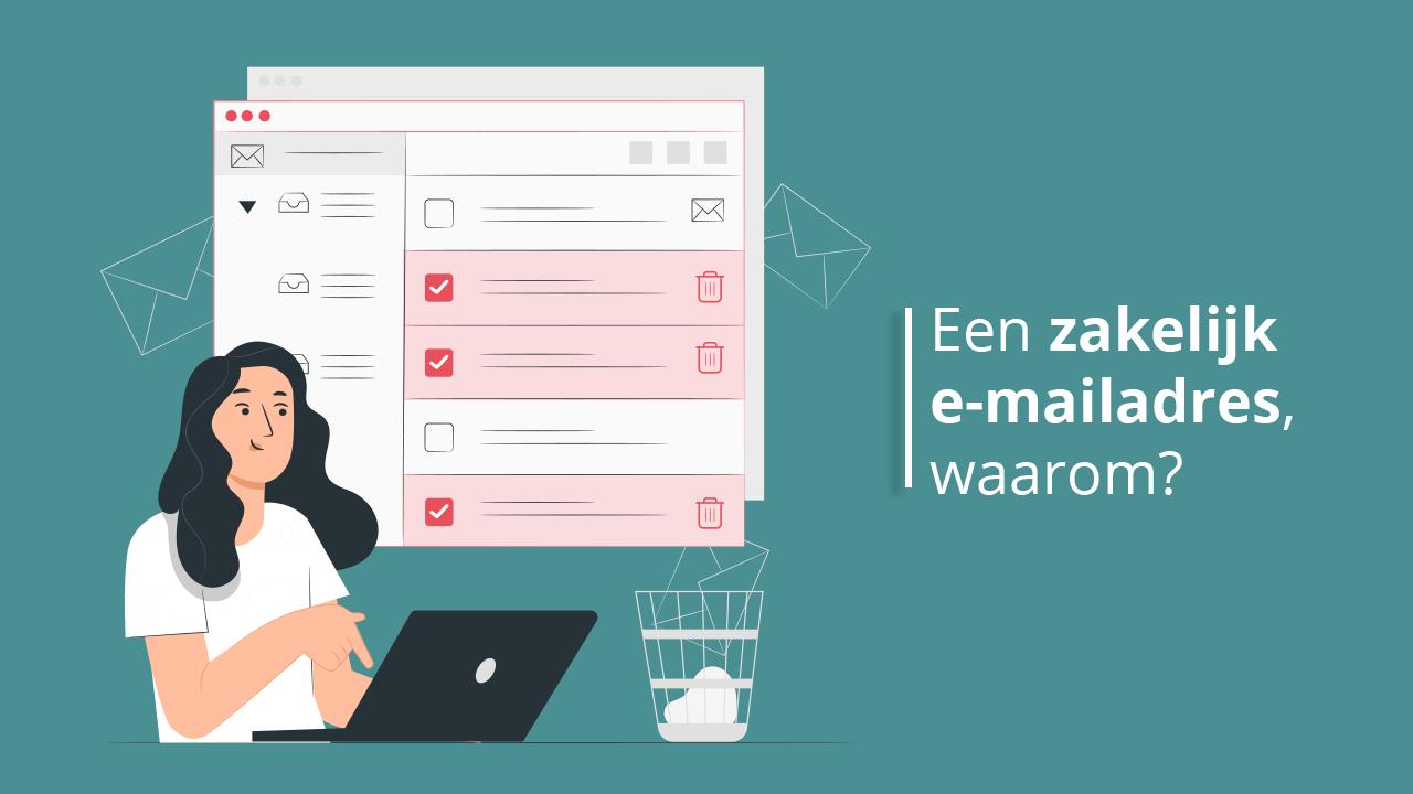 Waarom een professioneel mailadres?