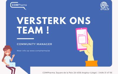 Jobaanbieding : Community manager