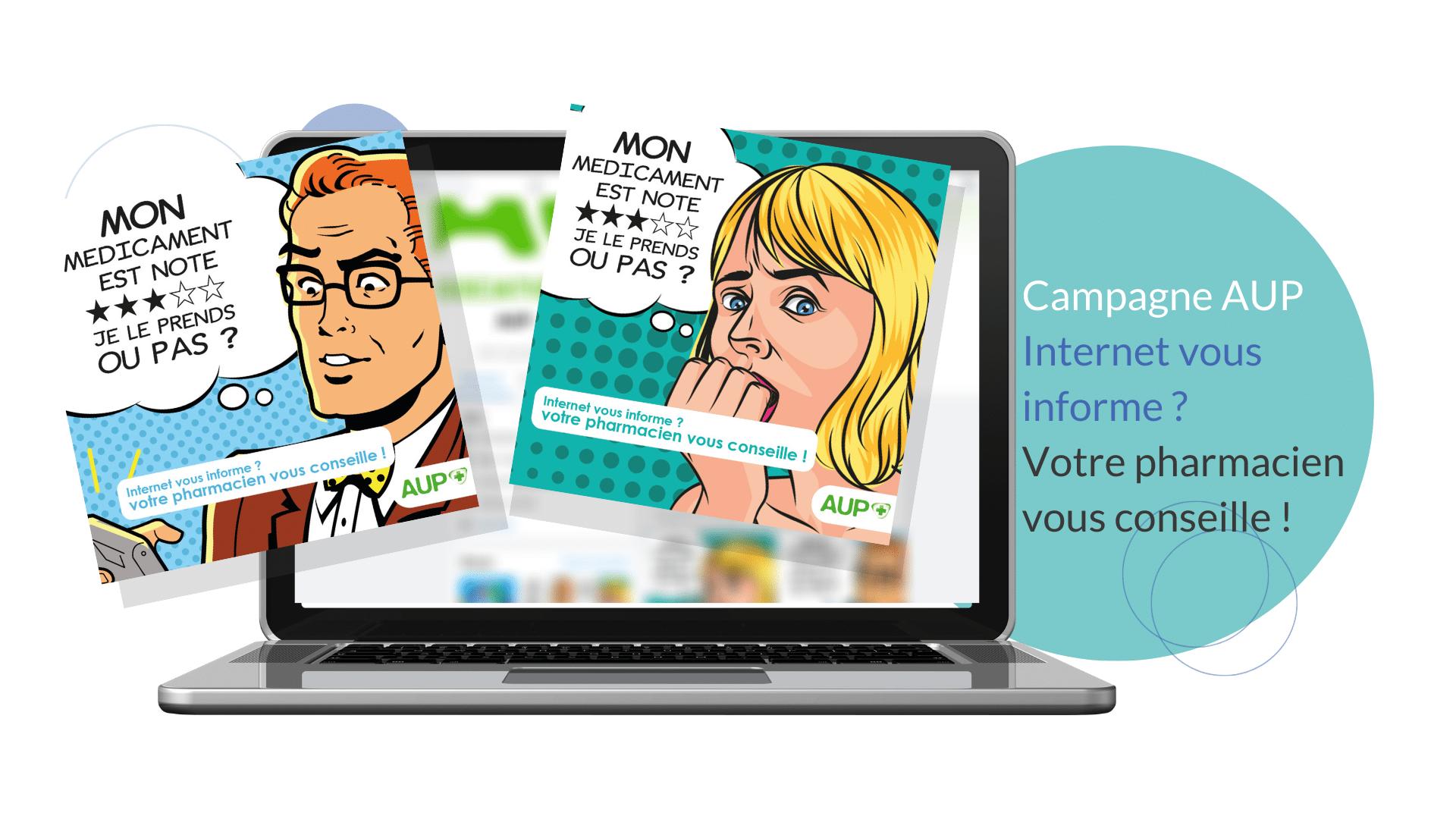 Création d'une campagne de communication pour l'Association des Unions Professionnelles Pharmaceutiques