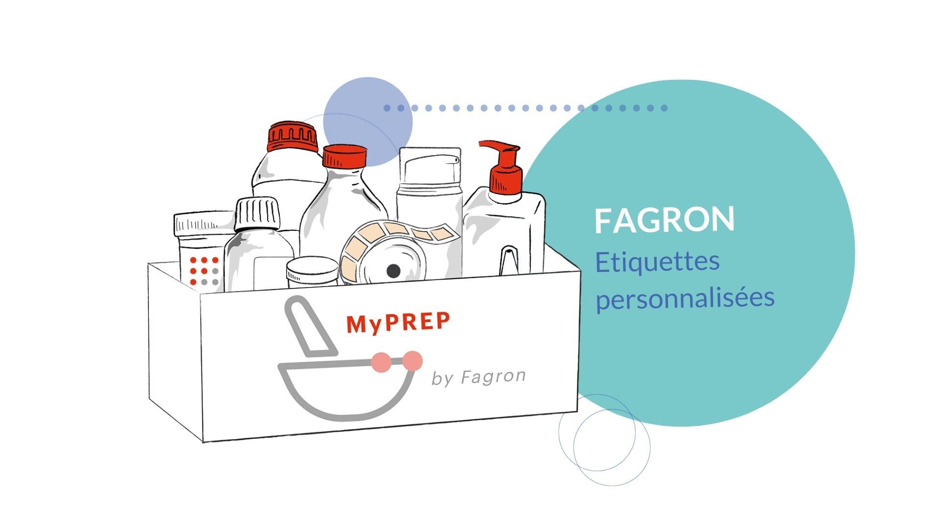 Création étiquettes pour pharmacie via Fagron