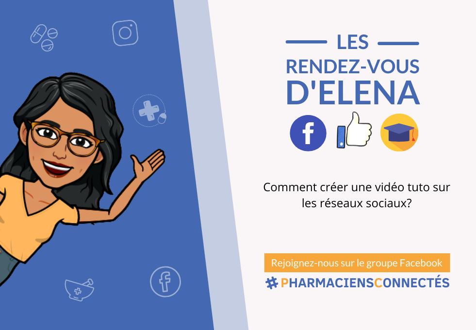 tuto pharmacie sur les réseaux sociaux