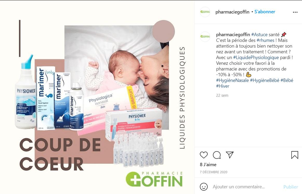 promo pharmacie goffin
